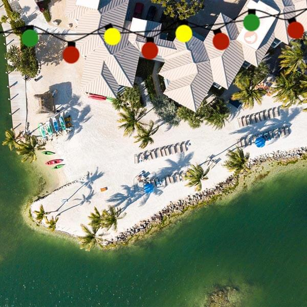 DRONE PELICAN COVE TOP